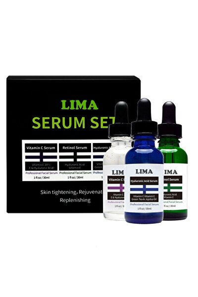 3'lü Serum-hyaluronic Acid+retinol+vitamin C