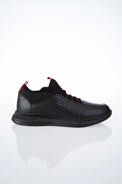 PC-30508 Siyah-Kırmızı Erkek Spor Ayakkabı