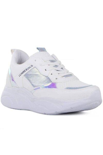 Kadın Beyaz Lilian Günlük Spor Ayakkabı 100486542