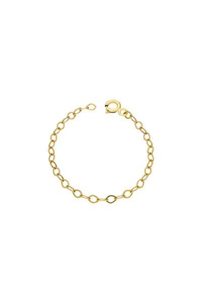 Kadın Altın 10 cm Uzatma Zincir