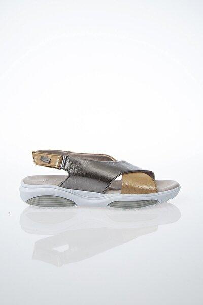 PC-6116 Altın Kadın Sandalet
