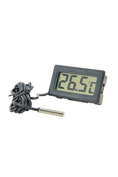 Dijital Problu Termometre Lcd Mutfak Iç Dış Mekan Kuluçka Sıcaklık Ölçer Tpm 10 Tpm10