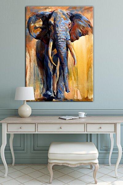 Fil ( Hayvanlar Alemi ) Dekoratif Sanatsal Kanvas Tablo