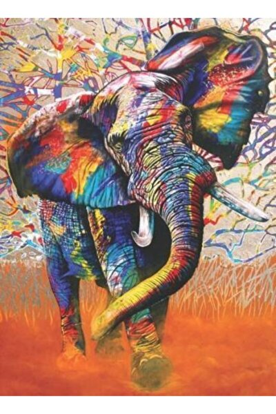 Afrika Renkleri 1000 Parça Puzzle 1054