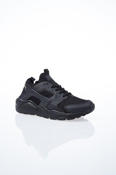 Kadın Siyah Günlük Spor Ayakkabı Pcs-10276
