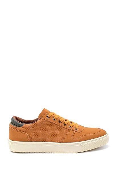 Erkek Hardal Günlük Sneaker Ayakkabı
