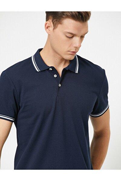 Erkek Lacivert T-Shirt 0YAM11203LK