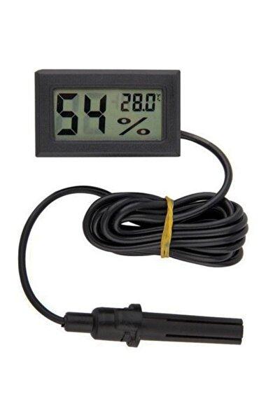 Kuluçka Nem Ölçer Termometre Problu Dijital Higrometre Termometre Dijital Termometre ,ısı Derece