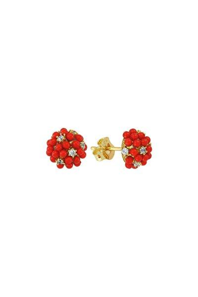 Red Grape Earr. 925