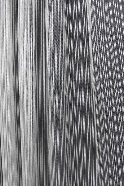 Brillant Tül Perde Düz Çizgili Modern 400 x 250 cm 1'e 2.5 Orta Pileli