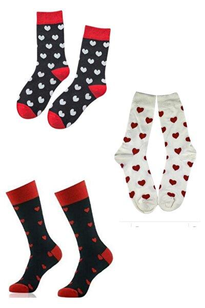 3 Lü Kalpli Kadın Çorap