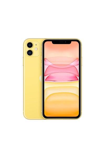 iPhone 11 128GB Sarı Cep Telefonu (Apple Türkiye Garantili) Aksesuarsız Kutu