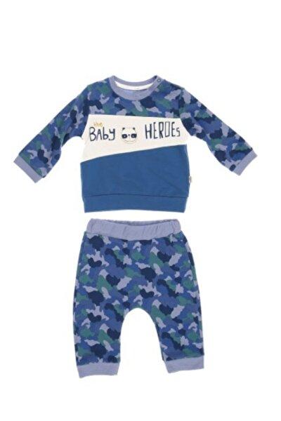 Erkek Bebek Mavi Hero 2'li Bebek Takım