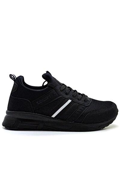 Erkek Siyah  Spor Ayakkabı Günlük Sneaker Rahat Giyim