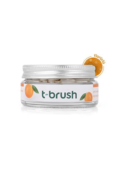 Portakal Aromalı Diş Macunu Tableti-florürlü