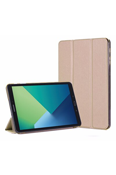 Galaxy Tab A 10.1'' P580 Smart Case Ve Arka Kılıf, Microsonic Gold