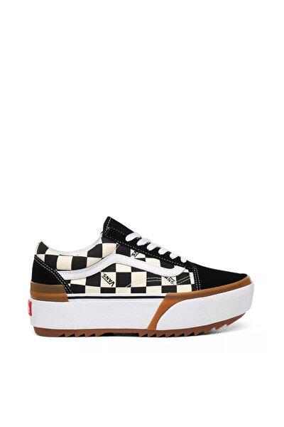 Checkerboard Old Skool Stacked Kadın Ayakkabısı Vn0a4u15vlv1