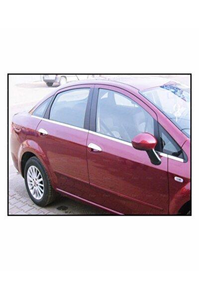 Fiat Linea Krom Cam Çıtası 8 Prç. 2007 Ve Üzeri P.çelik