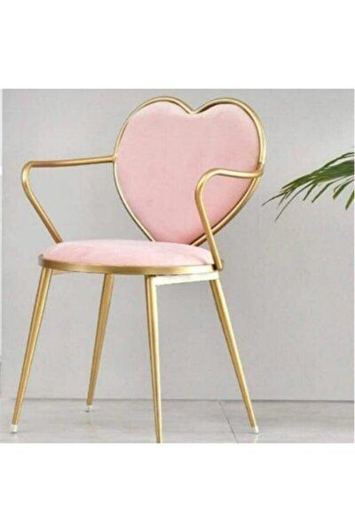 Kalpli Makyaj Ve Yemek Odası Sandalyesi