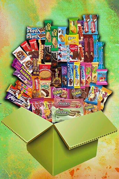 Sen Ve Ben Mega Çikolata Kek Pak - 55 Parça