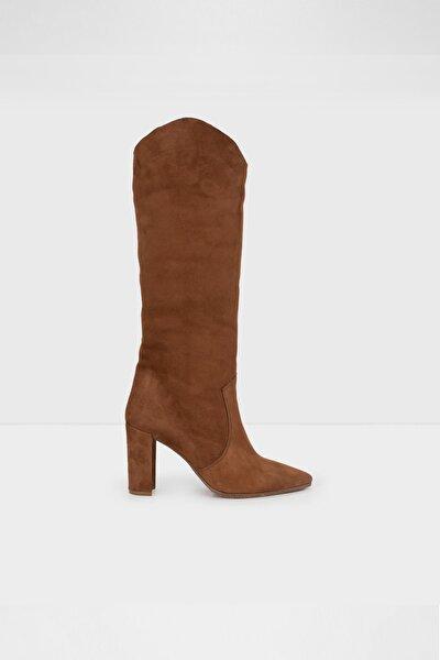 Kadın Taba Topuklu Çizme