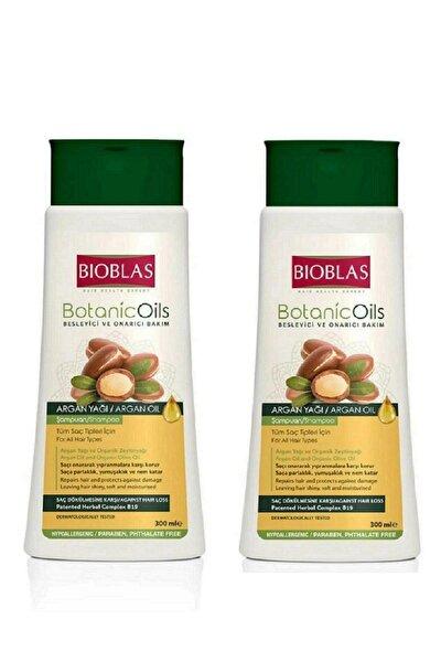 Botanic Oils Besleyici Ve Onarıcı Bakım Argan Şampuan Set 2 Adet X 300 Ml