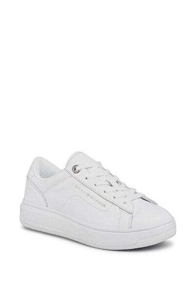 Kadın Beyaz Leather Cupsole Kadın Sneaker Fw0fw05009