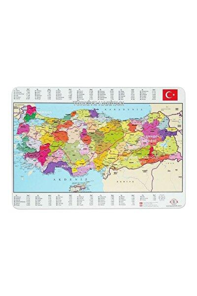Türkiye Haritası Puzzle 81 Parça 28x40 Cm