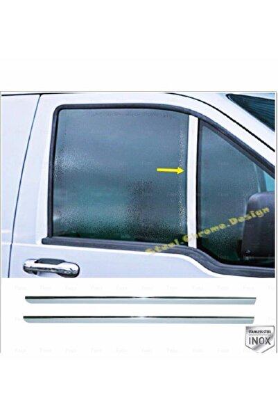 Ford Connect Krom Kelebek Cam Direği 2 Prç. 2002-2014 P. Çelik