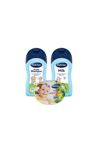 Şampuan 400 Ml + Nemlendirici Süt 400 Ml + Sünger