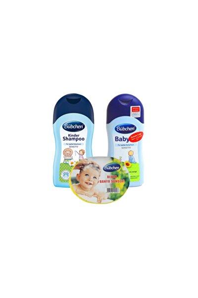 Şampuan 400 Ml + Bebek Yağı 400 Ml + Sünger