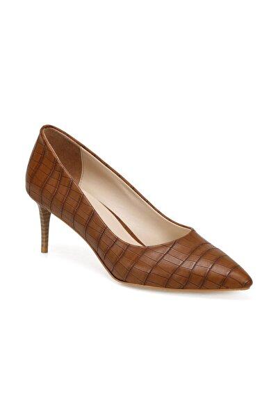 ATES Kahverengi Kadın Topuklu Ayakkabı 100666207