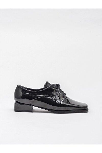 Kadın Siyah Oxford Ayakkabı