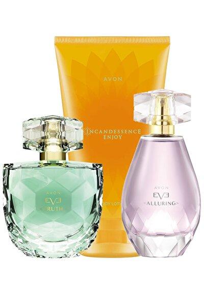 Eve Truth Ve Eve Alluring Kadın Parfüm Enjoy Vücut Losyonu Paketi