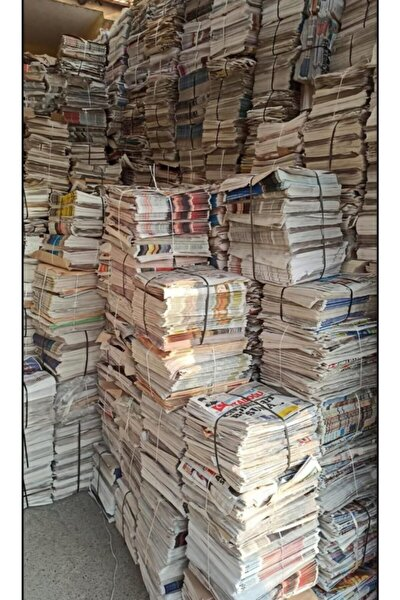 Hurda Gazete Eski Kiloluk Gazete Okunmamış Iade Sıfır Yıpranmamış 1 Kg