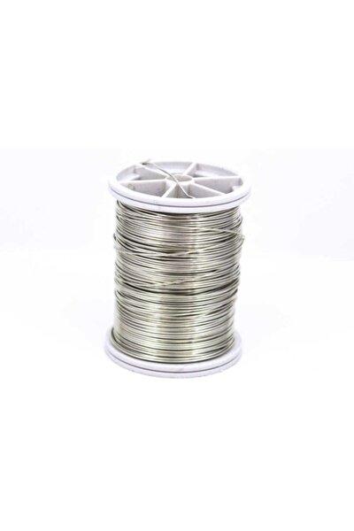 Bakır Çiçek Teli, Gümüş Renk Kalınlık : 0.80 mm