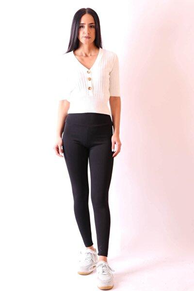Siyah Tayt Pantolon