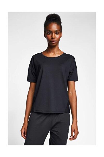 Kadın Siyah T-shirt 20b-2022