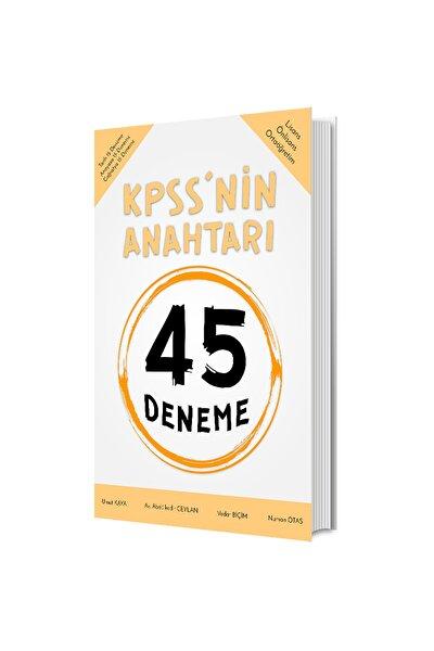Kpss'nin Anahtarı 45 Deneme 2021