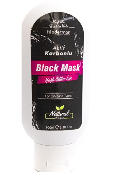 Aktif Karbonlu Black Mask 100 ml