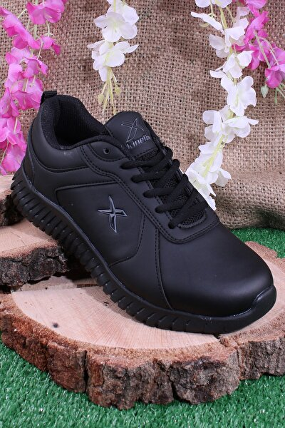 Unisex Siyah Günlük Sneaker