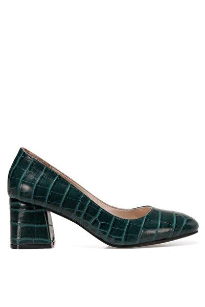 WALES Yeşil Kadın Topuklu Ayakkabı 100555817