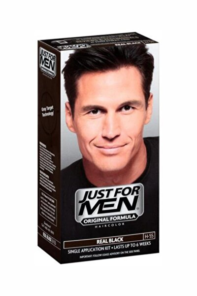 Real Siyah Saç Boyası H-55