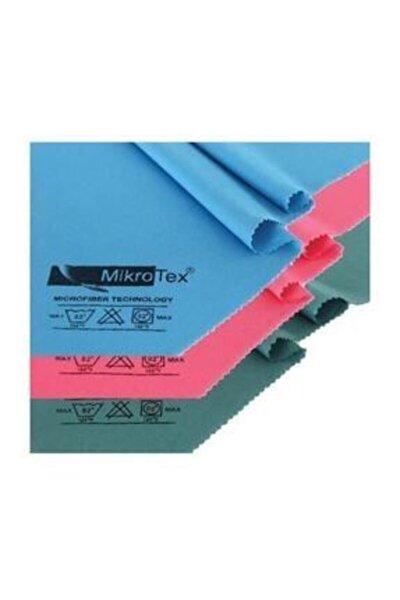 (3 Adet) Mikrofiber Cam Bezi Ve Temizlik Bezi 40x50 Cm. Mavi - Pembe - Yeşil