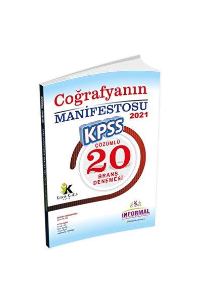 2021 Kpss Coğrafyanın Manifestosu 20li Çözümlü Deneme