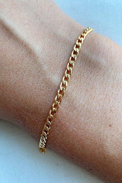 Kadın Altın  Kaplama Zincir Bileklik