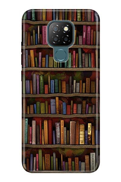 General Mobile Gm 20 Kılıf Desenli Silikon Kapak - Kütüphane