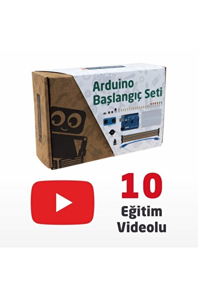 Arduino Uno R3 Başlangıç Seti - Starter Kit (klon) Kitaplı Ve Videolu