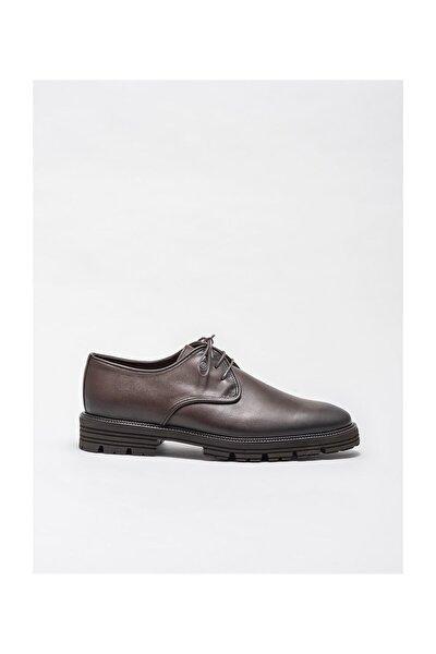 Kahve Deri Erkek Klasik Ayakkabı