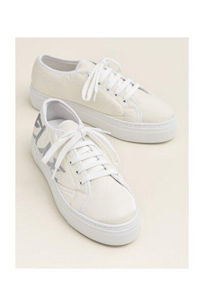 JENET Beyaz Sneaker Kadın Sneaker 20YBB166